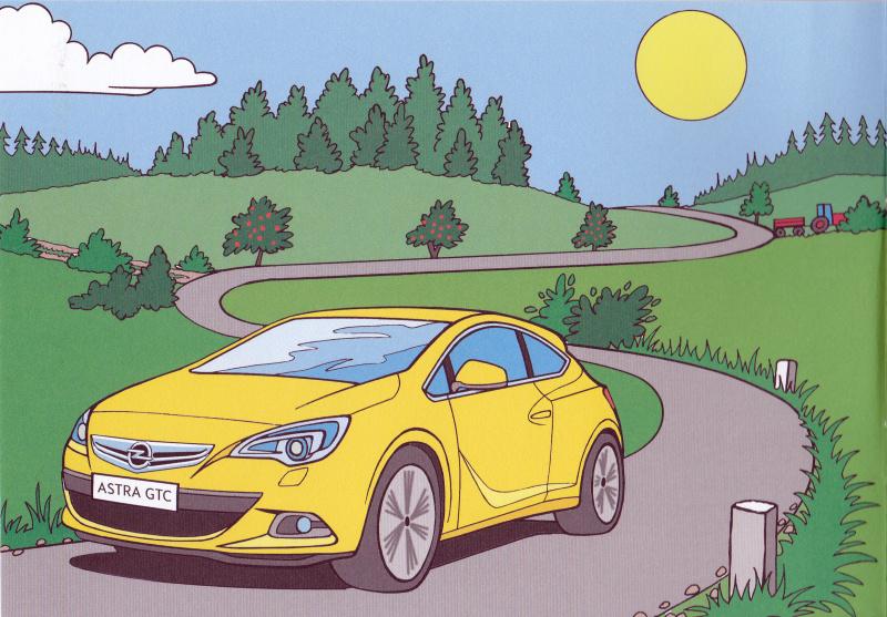 Opel omalovánky 2