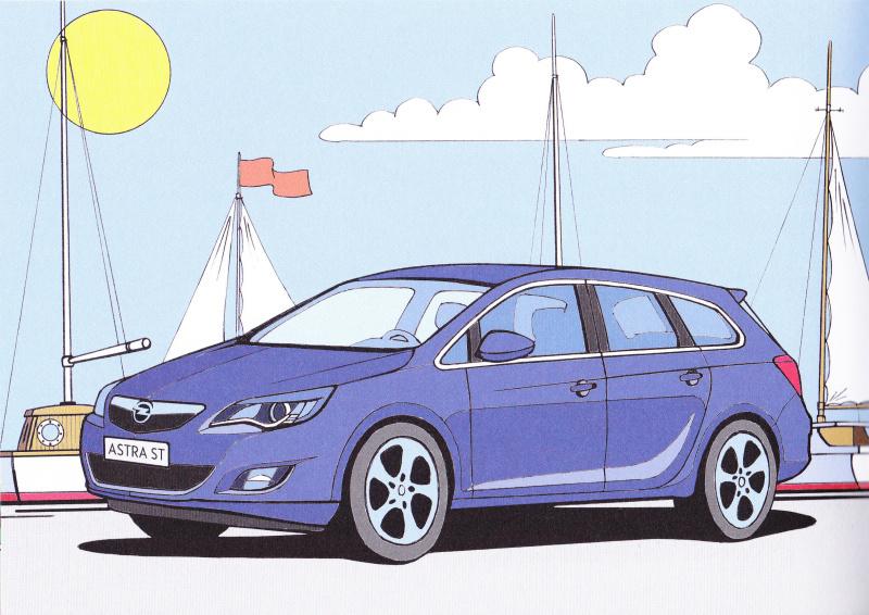 Opel omalovánky 4