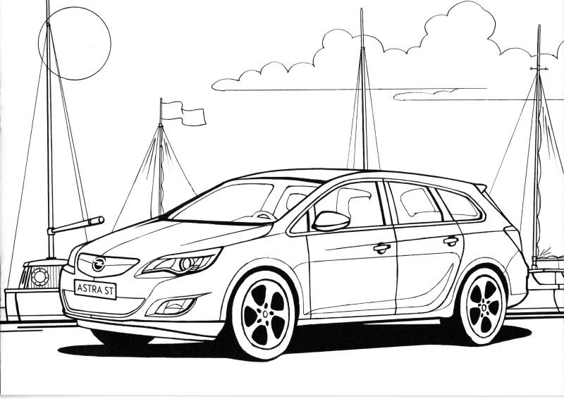 Opel omalovánky 5