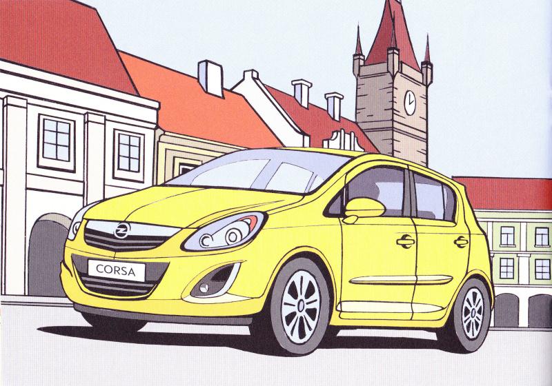 Opel omalovánky 8