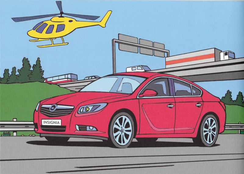 Opel omalovánky 10