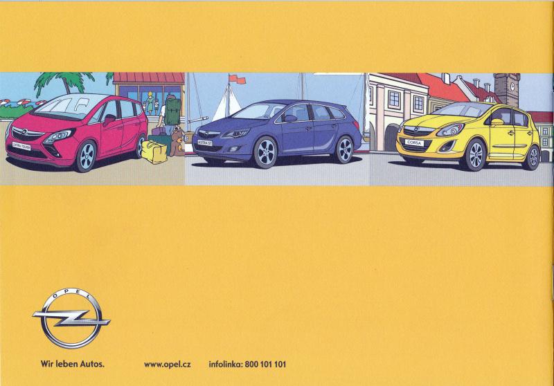 Opel omalovánky 12