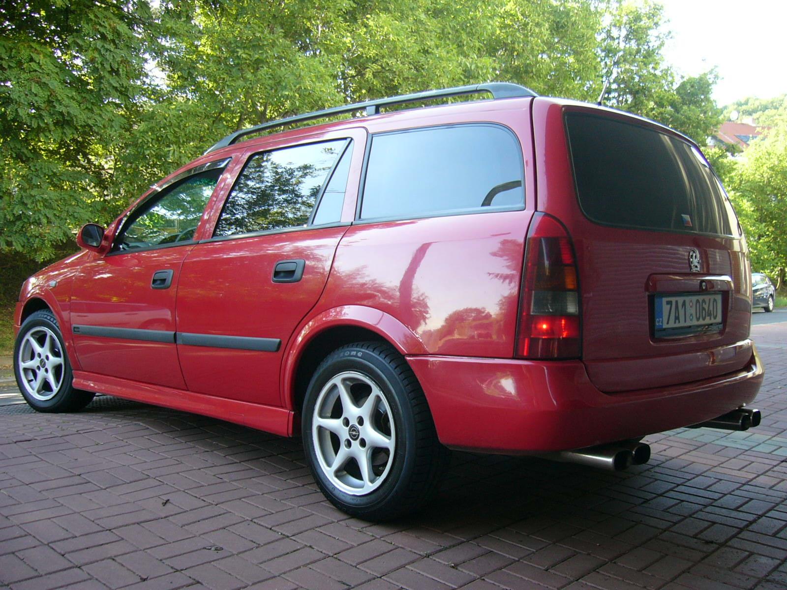 Duphyho Opel Astra G caravan