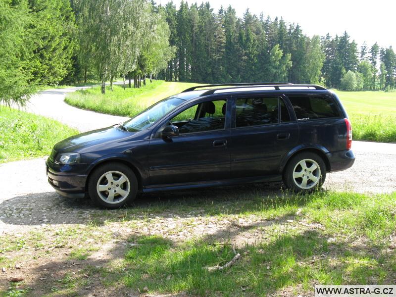 Opel Astra G současný stav
