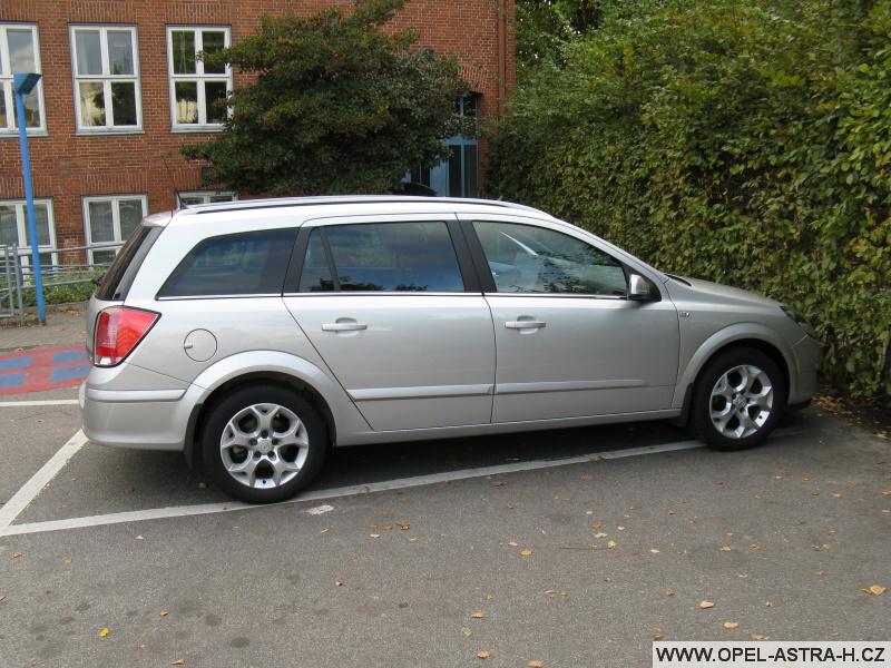 Opel Astra H v Německu 2