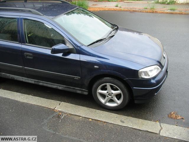 Boční blikač Opel Astra G - 4