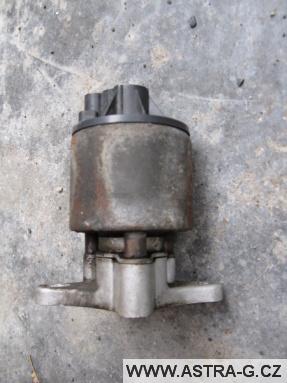 EGR ventil opel astra g