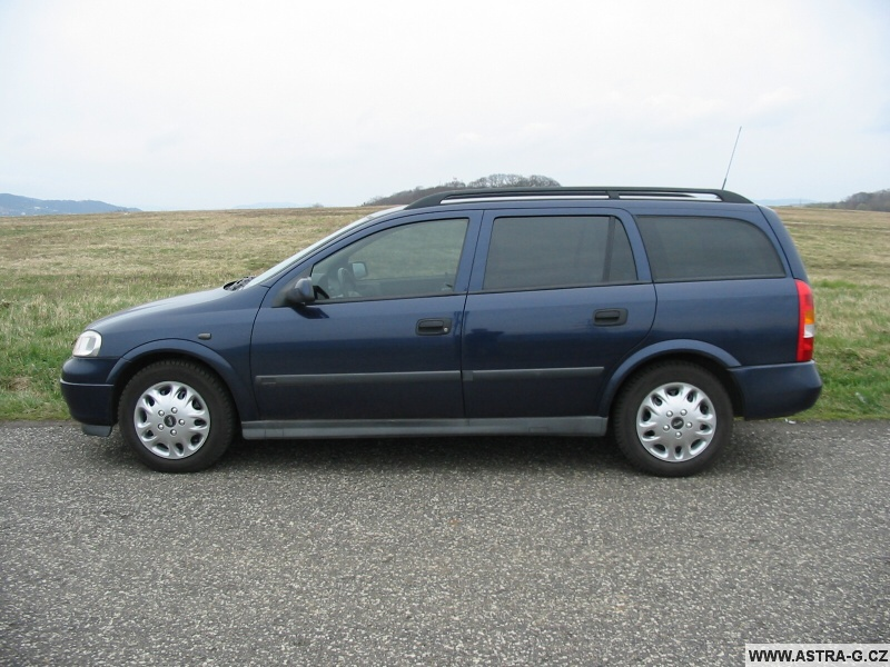 Autofolie Opel Astra G