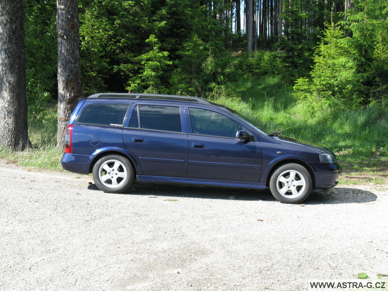 Opel astra g autofólie