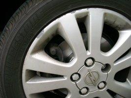 Kotoučové zadní brzdy