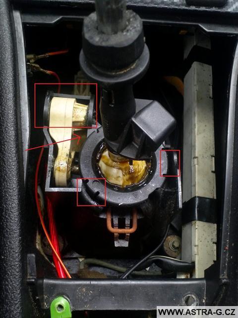 Řadička Opel Insignia v astře g 1