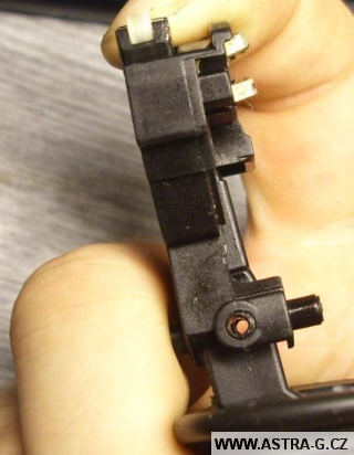 Páčka ovládání stěračů