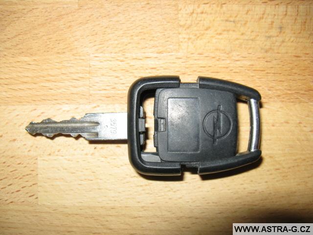 Kryt klíče u dálkového ovládání