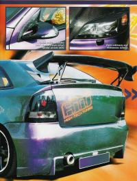 Opel Astra sport projekt ultraviolet