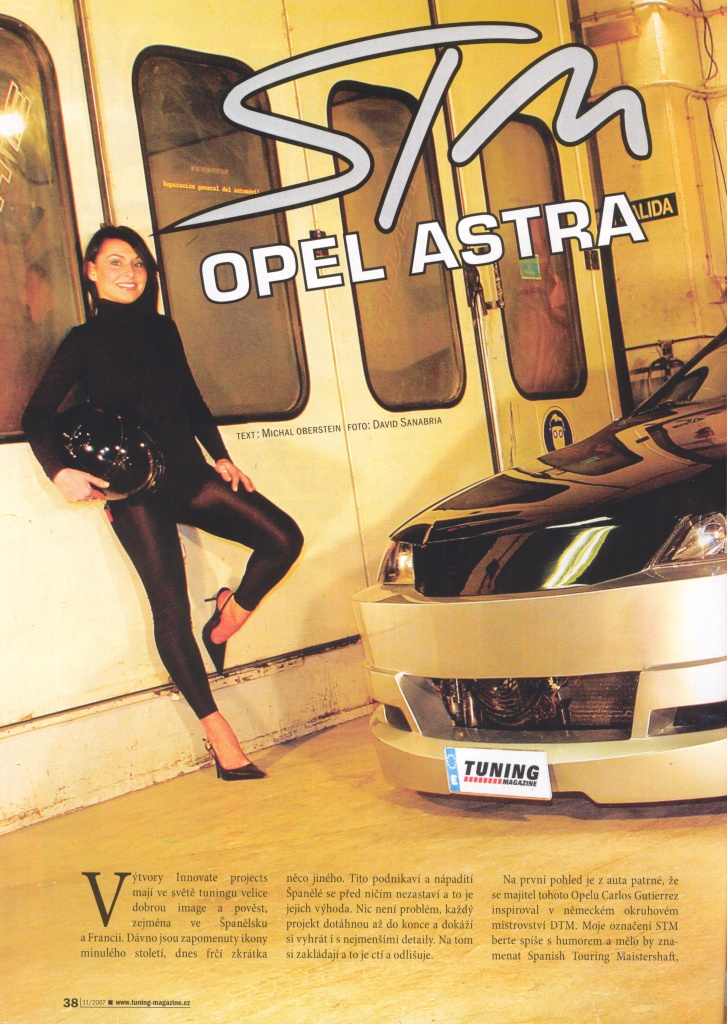STM Opel Astra