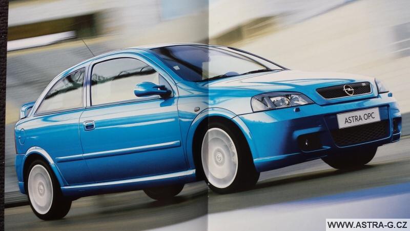Opel Astra G OPC 1