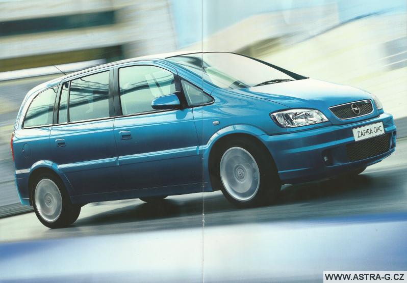 Opel Zafira OPC katalog 2