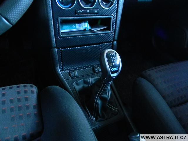 Montáž řadící páky z Opel Insignia OPC do Astra G