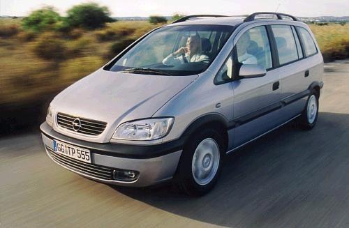 Opel Zafira – Sedmimístný vůz má své slabiny