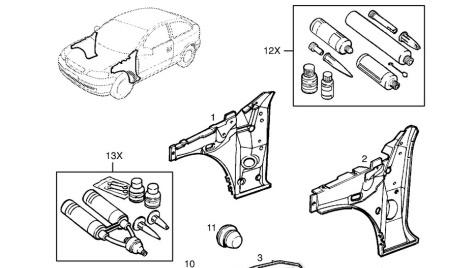 Katalog náhradních dílů Opel online