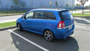 Opel Astra a Zafira - Ostrava sraz