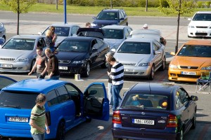 Letňany sraz Opel