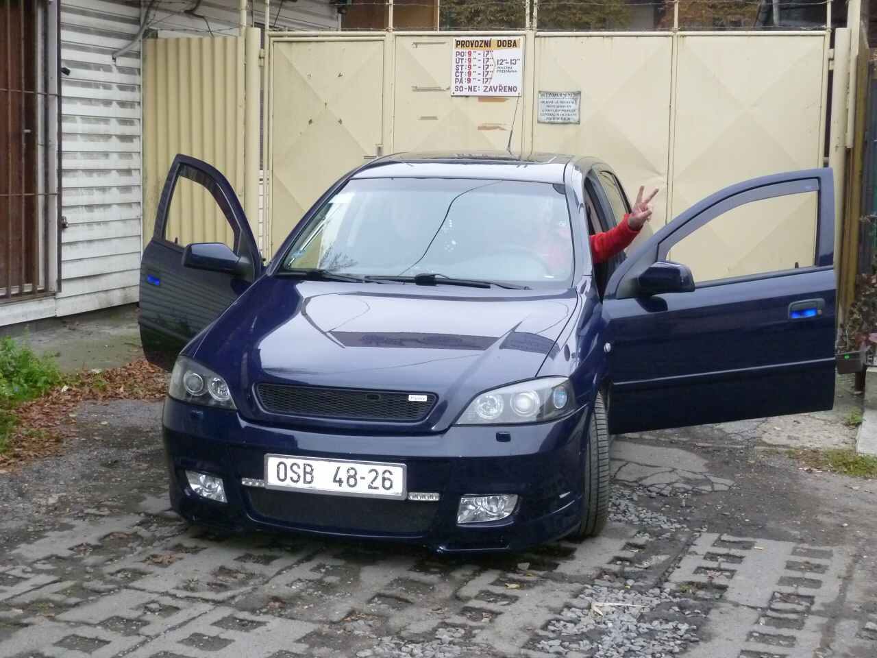 Opel Astra-Zafira sraz OSTRAVA 2010 – 16.10.