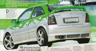 Asterka – Opel Astra 1.8 16V Sport