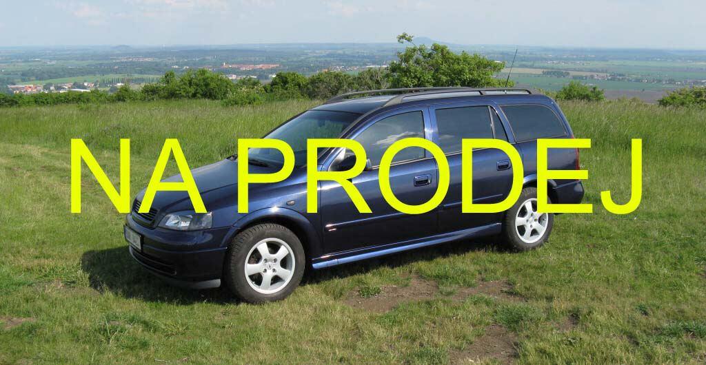 Opel Astra G 1.6 16V automat PRODÁM