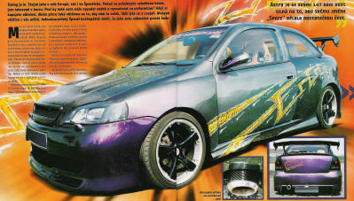 Astra Sport – Project Ultraviolet