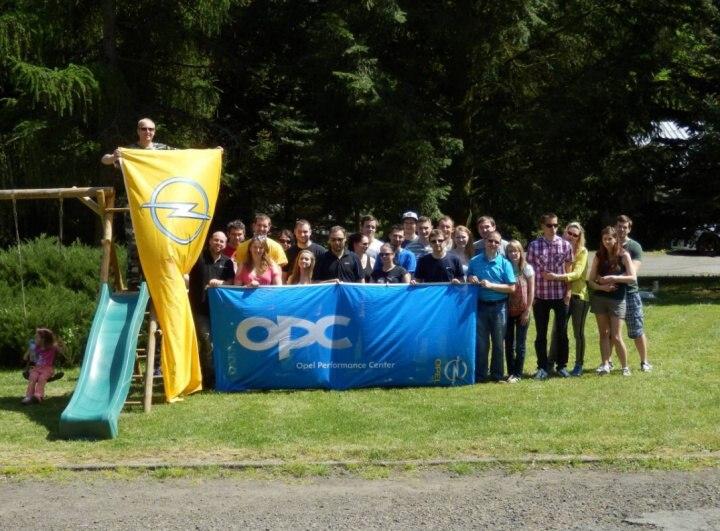 Opel sraz Buchlovice 2015