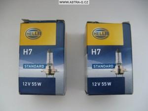 H7 Hella žárovky