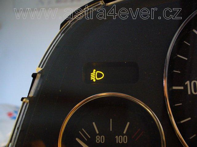 Automatická regulace náklonu světlometů pro Opel Astra G (1998-2009)
