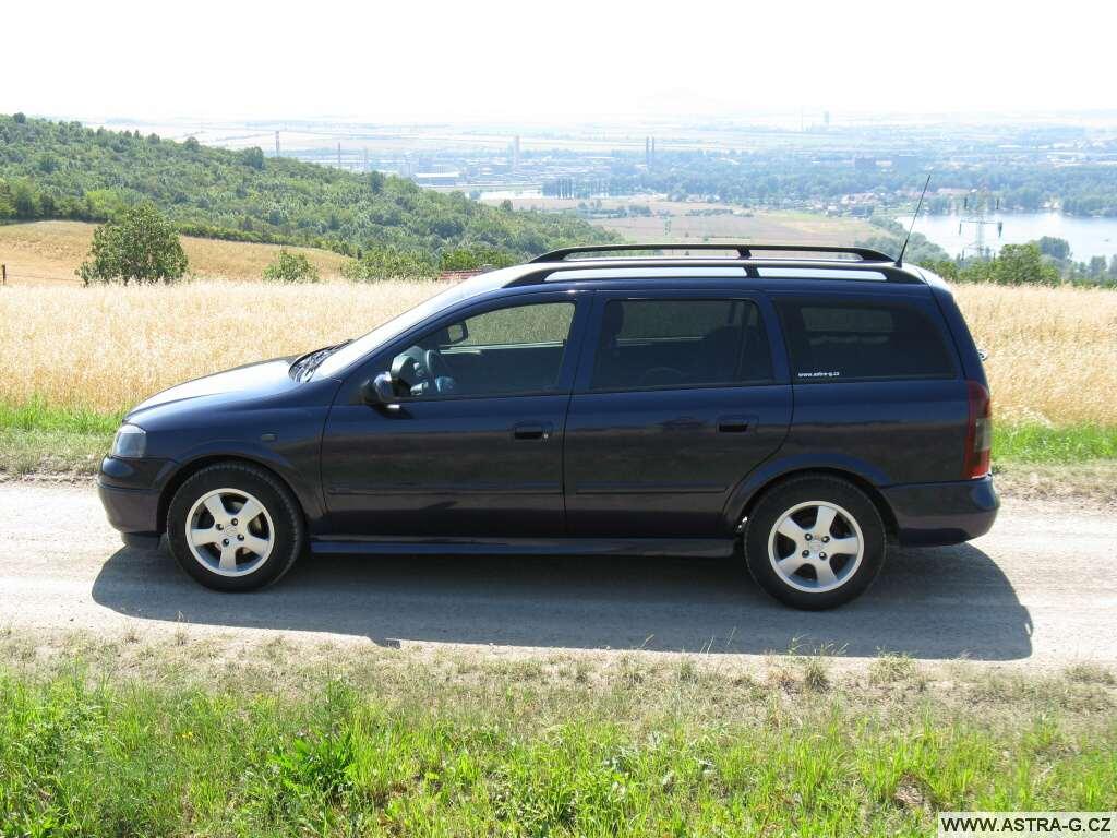 Opel Astra 1.6 kombi: dobrý prostor, líný motor