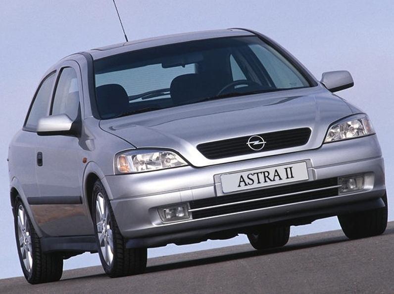 Opel Astra (1998-2004) – když květina vykvete
