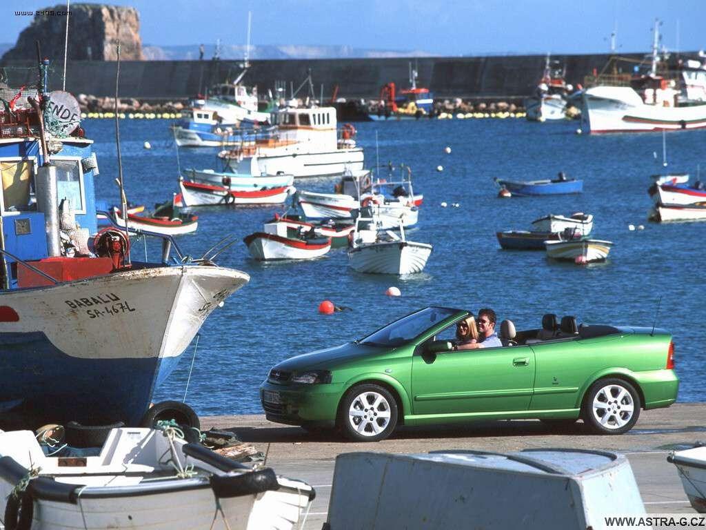 opel astra g cabrio green 01