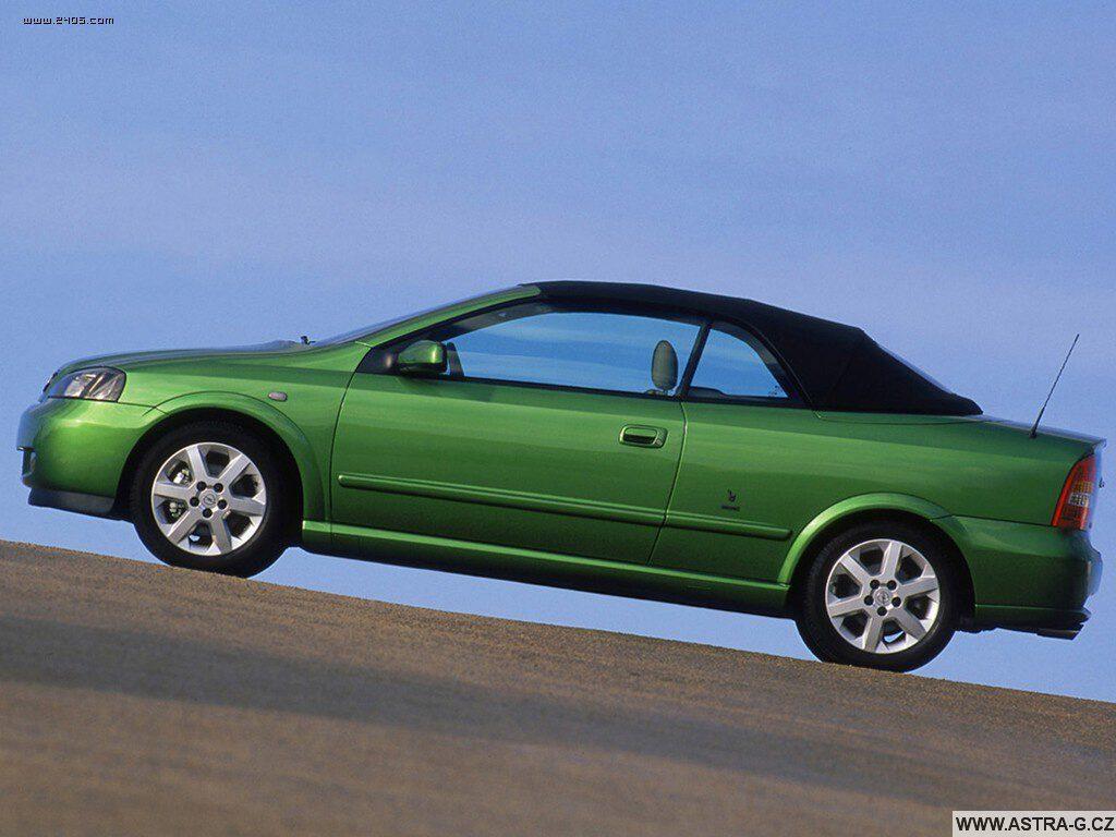 opel astra g cabrio green 10