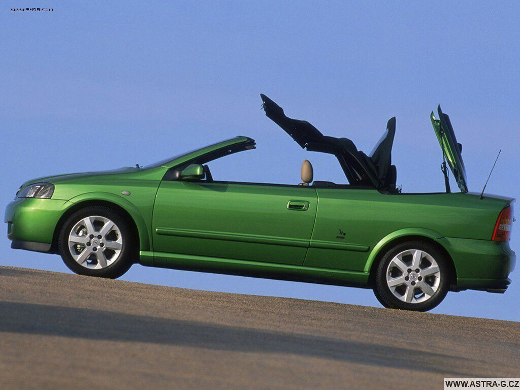 opel astra g cabrio green 11