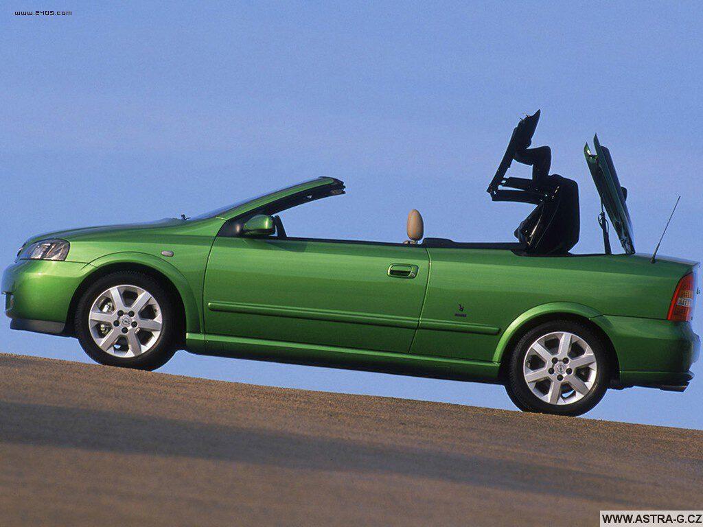 opel astra g cabrio green 12
