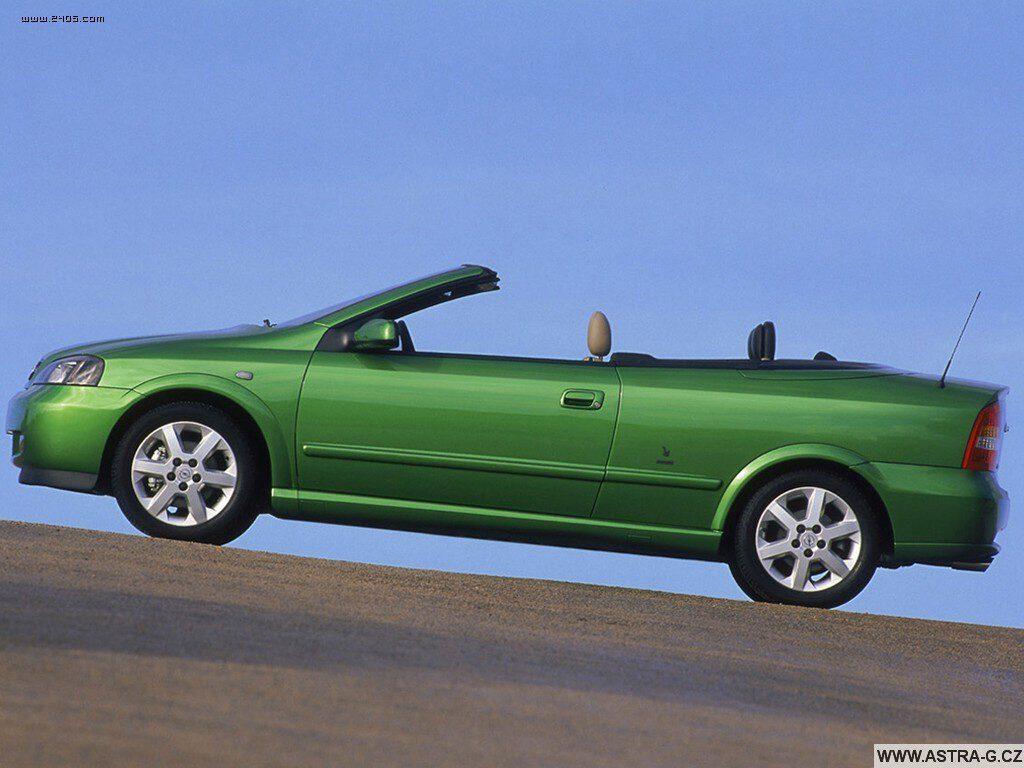 opel astra g cabrio green 13