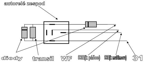 Datlíkova úprava ostřikování čelních skel
