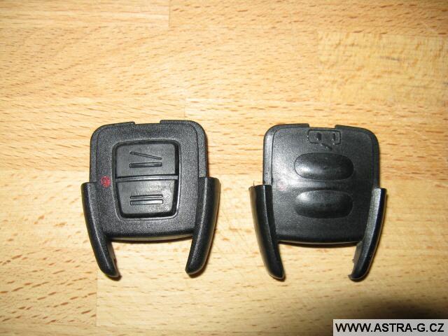 Výměna krytu klíče u dálkového ovládání