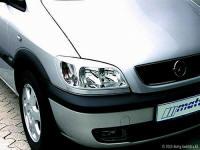 Opel Zafira kryty předních světel