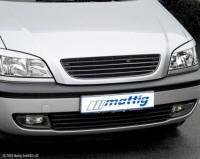 Opel Zafira maska mattig